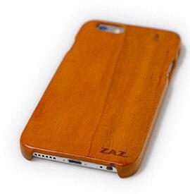 ZAZ スマホケース iPhone6 ( 4.7インチ ) iPhone6Plus ( 5.5インチ ) 木製ケース ウッドケース wood case 左右側面・裏面カバー タイプA ZAZ正規品刻印入り