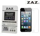 ZAZ iPod touch 5/6 (第5世代 、 第6世代)共通 対応 ガラスフィルム 硬度9H 厚さ0.26mm 強化ガラス ラウンドエッジ加…