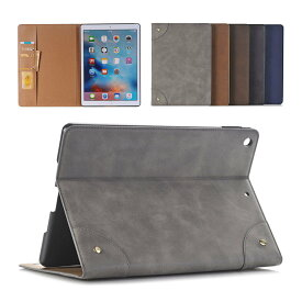 iPadケース レザー調 オートスリープ カード収納 スタンド iPadPro iPadAir iPadmini iPad 第6世代 第5世代 第4世代 第3世代 第2世代 2019 2018 2017 2016 2015 2014 12.9インチ 11インチ 10.5インチ 9.7インチ 【あす楽】