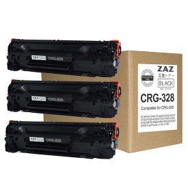(3本セット)CRG-328 キャノン 互換トナーカートリッジ ( トナー 328 ) CANON レーザープリンタ 対応機種: MF4410 / MF4420n / MF4430 / MF4450 / MF4550d / MF4570dn / MF4580dn / MF4750 / MF4820d / MF4830d / MF4870dn / MF4890dw 【365日発送】