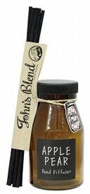 リードディフューザー アップルペアー John's Blend ノルコーポレーション 芳香剤 置き型タイプ