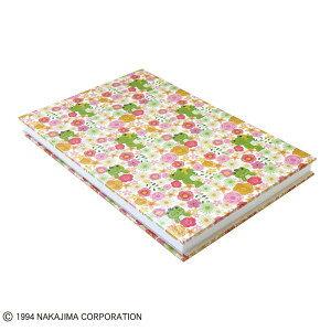 【メール便発送可能】かえるのピクルス 御朱印帳 Flower Parade ST-TPC0003