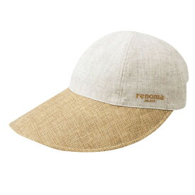 【送料無料】UVカット帽子 春夏用 レディース!renomaPARIS(レノマ・パリス) たためるつば広帽子 ベージュ