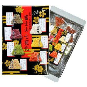 【送料無料】草加煎餅!埼玉の名産 草加せんべい 富士山七変化30枚入×6箱セット