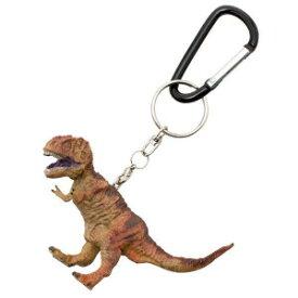 恐竜のフィギュア キーホルダー!ティラノサウルス キーリング FD-401(70651)