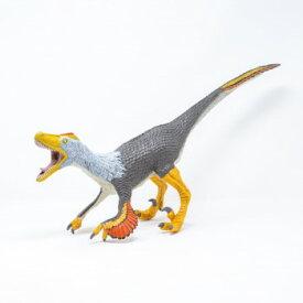 恐竜のフィギュア 模型 インテリア 玩具!ヴェロキラプトル ビニールモデル FD-325