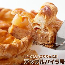 【送料無料】リンゴたっぷりアップルパイ 直径14cmホールケーキ!アップルパイ