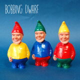 「BobbingDwarf」【コンパクト対応3個まで】ドワーフ小人インテリア飾りマスコット首振りユニコンユニーク首振り人形人形