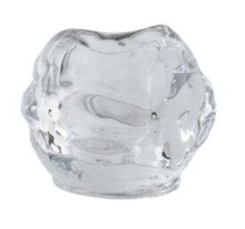 キャンドルグラス ロックアイス アロマキャンドル用 キャンドルホルダー カメヤマ製