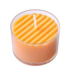 日本製のアロマキャンドル アロマムード アプリコットの香り・オレンジ 12個セット ペガサスキャンドル