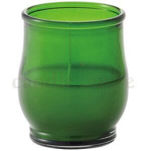 カメヤマ キャンドルグラス ポシェex グリーン キャンドル キャンドルナイト用 グラス入りキャンドル キャンドルイベント用 屋外用にもおすすめ!