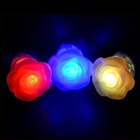 【48個セット】【フラッシュリング】光る 指輪 LED 光るロイヤルリング 景品 ノベルティ 玩具 かわいい バラ パール 女の子 アクセサリー ゆびわ 指輪 光る 夜 ピカピカ おもしろ雑貨 ザッカ ビンゴ景品 バザー