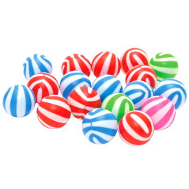 【12個セット】カラーボール おもちゃ ミラクルカラーボール 1ヶ6cm ボールプール ピンク ブルー グリーン レッド おまつり 夏祭り 子ども会 イベント パーティー おもしろ雑貨 ザッカ ビンゴ景品 バザー