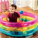 ボールプール クラシック3リング ベビーボールピット プール ビーチ おもちゃ 雑貨 景品 玩具 ボール カラフル 子ども…