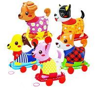 【5個セット】おさんぽコロコロわんわんズおさんぽシリーズビニール玩具エア玩具空気物Instagramインスタグラムインスタ映えカラフルかわいいカワイイ可愛いたのしい楽しいパーティーイベントバザービンゴ子ども会プレゼントグッズ景品販促雑貨