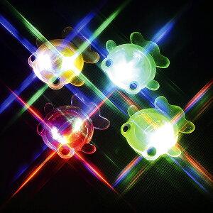 【48個セット】光る ピカピカ フラッシュきんぎょ 光り物玩具 光り輝く 魚 さかな おもちゃ 玩具 かわいい ひかる ぴかぴか カラフル カラー 夏休み おもしろ雑貨 ザッカ ビンゴ景品 バザー