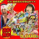 ハナビ 花火 詰め合わせビックリセット5000円ポッキリ 送料無料
