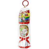 28cmお菓子詰め合わせサンタブーツサンタクロースChristmasプレゼント子ども会子供会クリスマスブーツ銀送料無料
