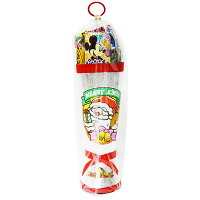 44cmお菓子詰め合わせサンタブーツサンタクロースChristmasプレゼント子ども会子供会クリスマスブーツ銀送料無料