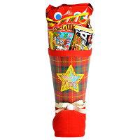 33cmお菓子詰め合わせサンタブーツサンタクロースChristmasプレゼント子ども会子供会クリスマスブーツタータン送料無料
