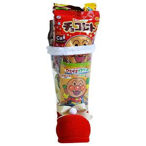 34cm お菓子 詰め合わせ サンタブーツ サンタクロース Christmas プレゼント 子ども会 子供会 クリスマスブーツ スケルトン M