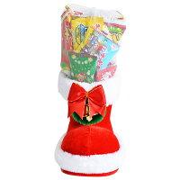 26cmお菓子詰め合わせサンタブーツサンタクロースChristmasプレゼント子ども会子供会クリスマスブーツ6インチ送料無料