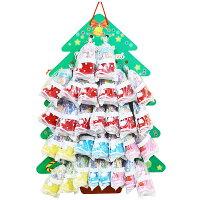 9cmお菓子詰め合わせサンタブーツサンタクロースChristmasプレゼント子ども会子供会クリスマスブーツ30個セット台紙付キャンディミニブーツ台紙サイズは縦50cm、横36cm