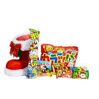 クリスマスブーツ4インチブーツ19cmサンタプレゼントクリスマスお菓子詰め合わせクリスマスブーツクリスマスプレゼントブーツサンタクロースビンゴ景品業務用
