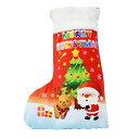 ファンシーソックス クリスマスブーツ 45cmお菓子入り まとめ買い クリスマスソックス 大 クリスマス 靴下 サンタ プ…