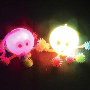 【24個セット】led フラッシュタコ ヨーヨー釣り 景品 玩具 おもちゃ 縁日 たこ 光るおもちゃ よーよー おまつり かわいい 海の生き物 夏祭り 祭 おもしろ雑貨 ザッカ ビンゴ景品 バザー