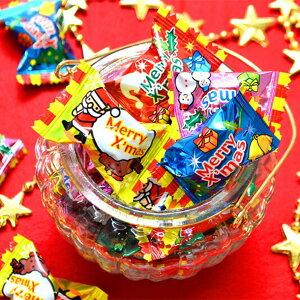クリスマスお菓子 業務用 クリスマスキャンディ 約250粒 あめ アメ おもしろ雑貨 ザッカ ビンゴ景品 バザー あす楽