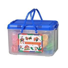 ほのぼのペタペタブロック とくとくセットSB237ブルー 知育 知育玩具 創造力 幼稚園 保育園 プレゼント ギフト 立体 しまじろう プッシュブロック お祝い くっつく おもしろ雑貨 ザッカ バザー