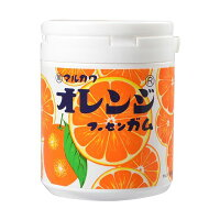 マルカワオレンジマーブルガムボトル6個入お菓子