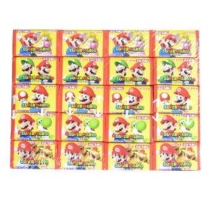コリス スーパーマリオガム60個入 お菓子 ビンゴ景品 業務用 バザー