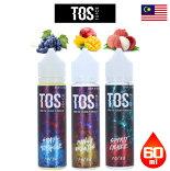 TOSJUICE60ml|リキッド電子タバコ電子たばこ正規品禁煙vapeベイプフレーバー海外マレーシア海外リキッド外国製トスティーオーエスフルーツ清涼剤ライチグレープマンゴー人気
