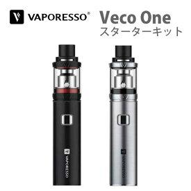 VAPORESSO Veco One スターターキット ペンタイプ   vape ベイプ 電子タバコ 電子煙草 タバコ たばこ スターター 初心者 女性 充電式 バッテリー 充電 本体 ペン pen mod おしゃれ おすすめ