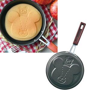 【送料無料】くまのがっこう パンケーキパン ジャッキー 直径16cm フライパン ホットケーキ フッ素加工 日本製 調理器具 クッキング スイーツ ギフト 贈り物 お祝い かわいい おしゃれ 内祝