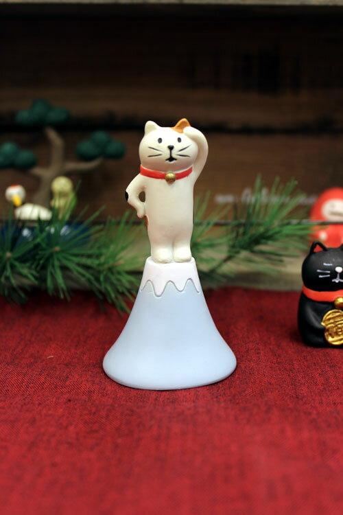 concombre 富士猫 ガーデンマスコット  置物  ミニチュア オーナメント zcb82570 コンコンブル【開店セール1212】【RCP】
