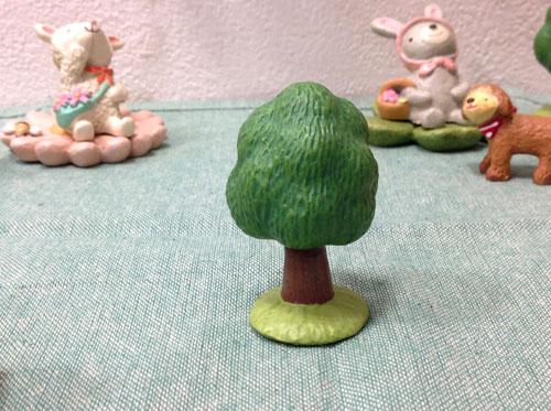 ノーティガーデン ツリーB ミニチュア ガーデンマスコット ナチュラル 木  置物 小物 【RCP】