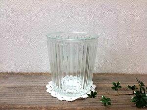 【ガラスポット】フラワーベース ストライプ 22330ガラス瓶  花瓶  置物 飾り アメリカン レトロ グラス 一輪挿し 植木鉢 鉢 ナチュラル 観葉植物 ハイドロカルチャー