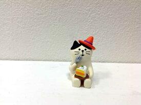 かぼちゃケーキ猫 zhw92538ハロウィン コンコンブル まったりマスコット ガーデンマスコット かぼちゃ こうもり ガーデン雑貨 ガーデニング雑貨 屋内 屋外 雨ざらし ガーデンオーナメント 置物 飾り ナチュラル雑貨/ナチュラル 雑貨