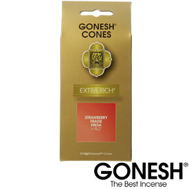 GONESH ガーネッシュ ストロベリー お香 コーン 香り 雑貨 業務用 アメリカ アロマ インセンス フレグランス 部屋