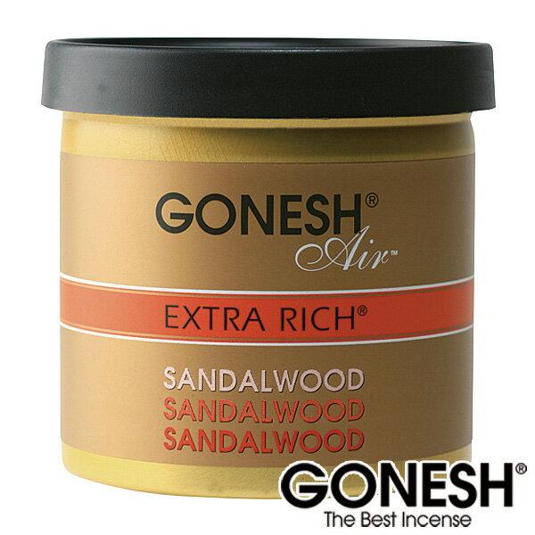 GONESH ガーネッシュ ゲル缶 エアフレッシュナー 芳香剤 車 ジェルSandalwood サンダルウッド