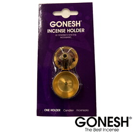 GONESH ガーネッシュ 金属製 お香立て メッシュブラス インセンスホルダー スティック・コーン 両対応【ガネッシュ GONESH】