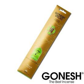 GONESH ガーネッシュ No.7 お香 スティック インセンス アロマ 甘い 香り お部屋 【ガネッシュ GONESH】