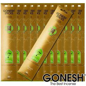 GONESH ガーネッシュ お香 スティック No.7 12パックセット(計240本)【ガネッシュ GONESH】