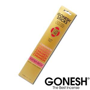 GONESH ガーネッシュ シナモン お香 スティック 雑貨 アメリカ アロマ インセンス スパイシー 香り Cinnamon 【GONESH】