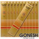 GONESH ガーネッシュ お香 スティック Sandalwood サンダルウッド 12パックセット(計240本)【ガーネッシュ(GONESH)】