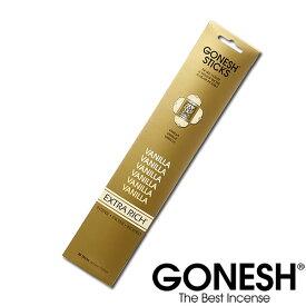 GONESH ガーネッシュ バニラ お香 スティック Vanilla 部屋 香り アロマ 雑貨 香り 【ガネッシュ GONESH】