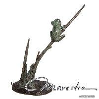 木に止まるカエル(フロッグ)